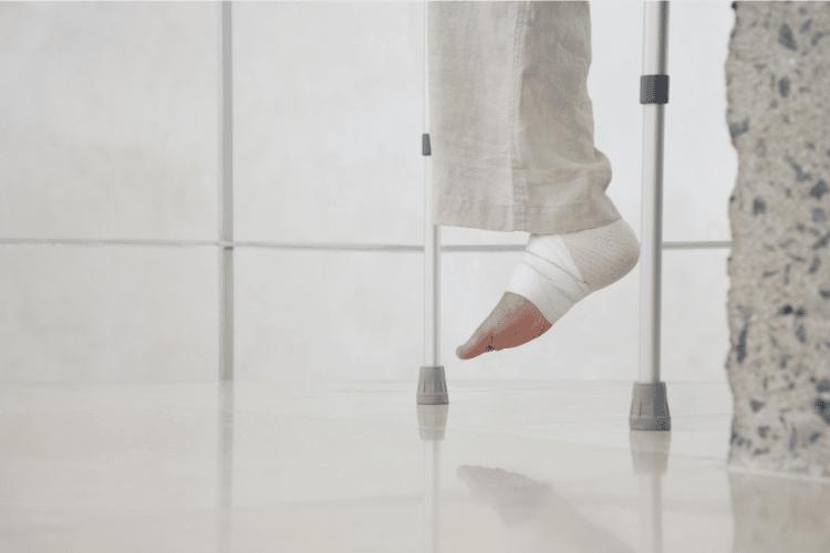 STOPY – Artroskopia stawu skokowego